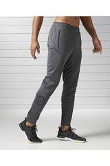 Reebok Plomo de Hombre modelo KNIT TRACKSTER Deportivo Pantalones Hombre Ropa