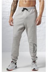 Reebok Gris de Hombre modelo WOR BL COT PANT Deportivo Pantalones Hombre Ropa
