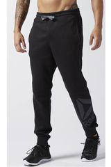 Reebok Negro de Hombre modelo WOR BL COT PANT Deportivo Pantalones Hombre Ropa