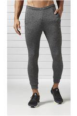 Reebok Plomo de Hombre modelo RE JOG PANT Deportivo Pantalones Hombre Ropa