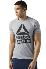 Reebok Gris de Hombre modelo TRAINING SPEEDWICK Deportivo Polos Hombre Ropa