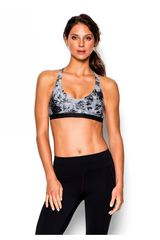 Under Armour Blanco / Gris de Mujer modelo ARMOUR LOW PRINTED Deportivo Tops