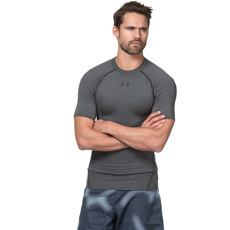 Polo de Hombre Under Armour Gris / negro armour hg ss t