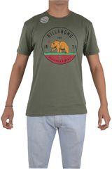 Billabong Verde de Hombre modelo GRIZZLY CA Casual Polos Ropa Hombre