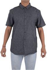Billabong Plomo de Hombre modelo HELIX SS SHIRT Casual Camisas Ropa Hombre