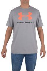 Under Armour Gris / Naranja de Hombre modelo CC SPORTSTYLE LOGO Ropa Polos Deportivo Hombre