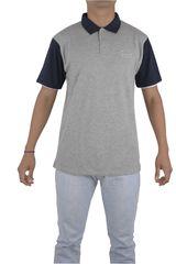 Billabong Gris / Azul de Hombre modelo DOBBY TIPPER POLO Polos Casual Ropa Hombre