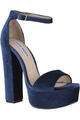 Steve Madden Azul de Mujer modelo GONZO-V Plataformas Calzado Mujer Sandalias