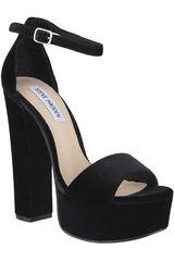 Steve Madden Negro de Mujer modelo GONZO-V Plataformas Sandalias Mujer Calzado