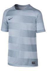 Nike Gris / Acero de Jovencito modelo FLASH B GPX SS TOP 1 Camisetas Polos