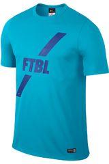 Nike Celeste / Azul de Hombre modelo ACADEMY GPX SS POLY TOP I Polos Deportivo