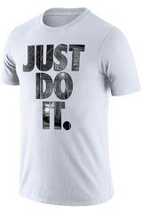 Nike Blanco / Negro de Hombre modelo CORE CTN SS CREW SET IN 2 Polos Deportivo