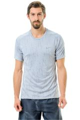 Nike Gris de Hombre modelo DF MILER FUSE SS Deportivo Hombre Camisetas Ropa