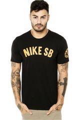 Nike Negro / Amarillo de Hombre modelo SB SPRING TRAINING TEE Hombre Casual Ropa Polos