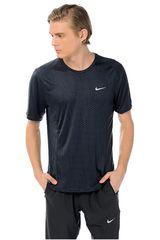 Nike Negro de Hombre modelo DF MILER FUSE SS Ropa Deportivo Hombre Camisetas
