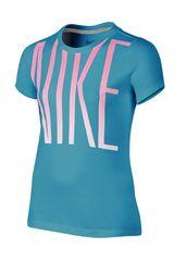 Nike Celeste de Niña modelo CAT HBR BLOCK TEE YTH Polos Casual