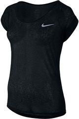 Nike Negro / Blanco de Mujer modelo DF COOL BREEZE SS Deportivo Polos
