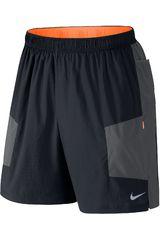 Nike Negro /Gris de Hombre modelo 7 TRAIL KIGER SHORT Deportivo Shorts