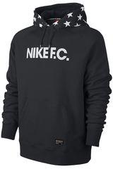 Nike Negro / Blanco de Hombre modelo GF GRAPHIC HOODY Poleras Deportivo