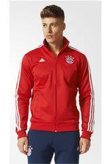adidas Rojo / Blanco de Hombre modelo FCB 3S TRK TOP Deportivo Casacas
