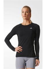 adidas Negro de Mujer modelo TF LS TOP Polos Poleras Deportivo