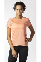 adidas Coral de Mujer modelo RS SS TEE W Polos Deportivo