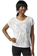 Reebok Blanco de Mujer modelo BO TEE Deportivo Polos