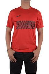 Nike Rojo / Negro de Hombre modelo DRY TOP SS ACDMY GX Deportivo Camisetas Polos