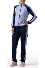 Reebok Azul / Lila de Mujer modelo EL TS TRICOT Buzos Deportivo