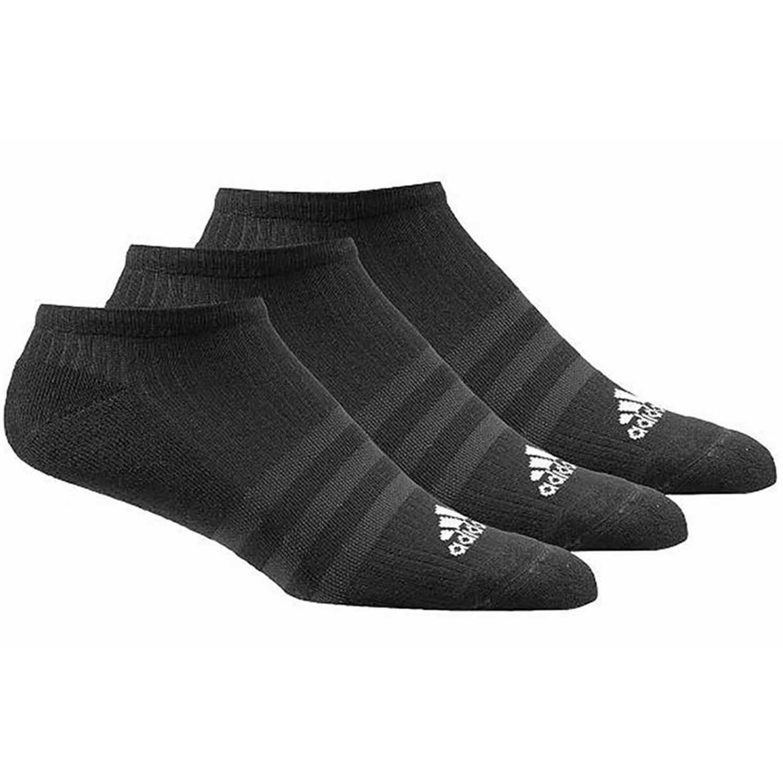 Media de Hombre Adidas Negro 3s per n-s hc3p