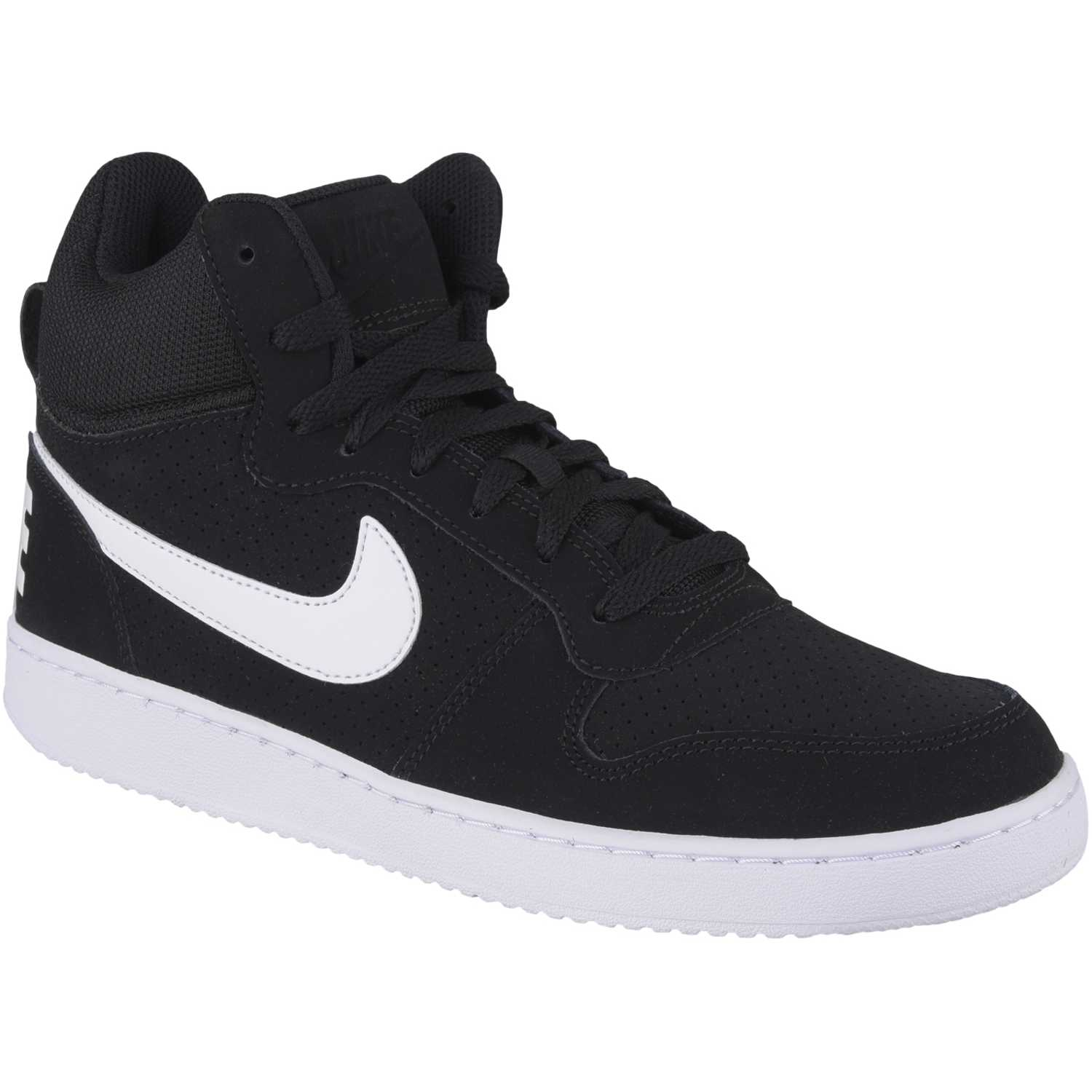 competitive price 697a1 7e703 Zapatilla de Hombre Nike Negro   blanco court borough mid