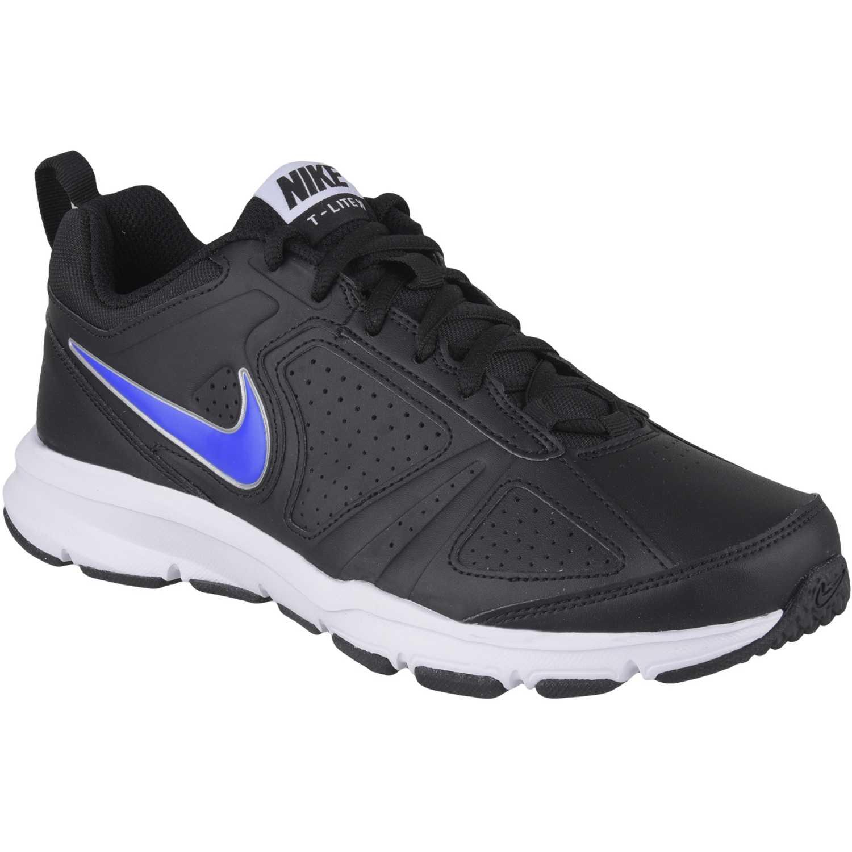 san francisco 1b5e5 3b59d Zapatilla de Hombre Nike Negro   Azul t-lite xi sl