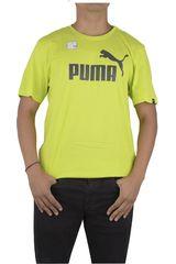 Puma Amarillo de Hombre modelo ESS NO.1 TEE Polos Deportivo
