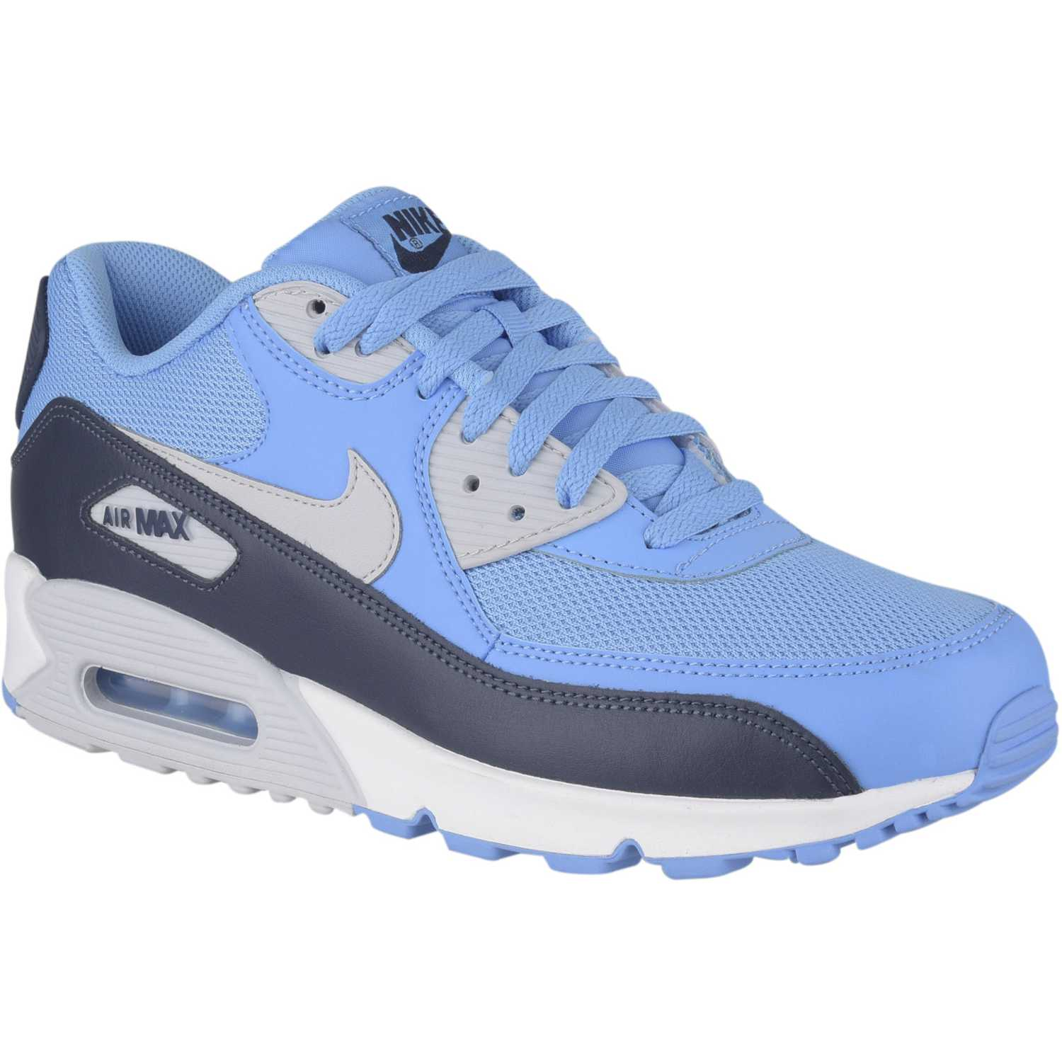 purchase hombres nike air max 90 azul 77048 94866