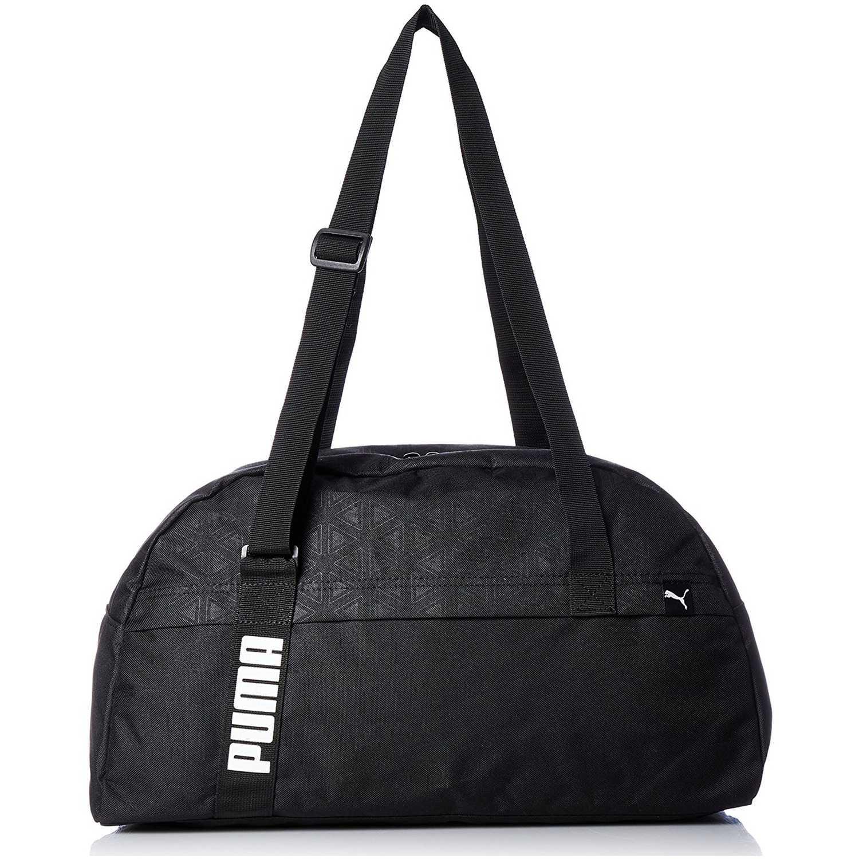 Maletin Deportivo de Mujer Puma Negro   Blanco core active sportsbag ... 105d8bd451fcf