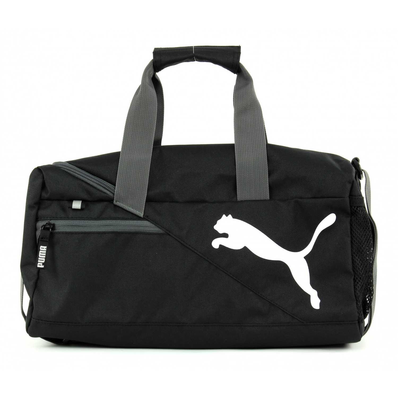 Maletin Deportivo de Hombre Puma Negro   Blanco fundamentals sports bag xs 9a6af40490a5