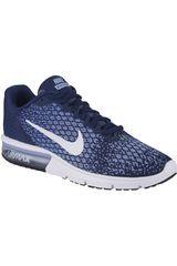 Nike Azul / Celeste de Mujer modelo WMNS AIR MAX SEQUENT 2 Zapatillas Deportivo Running