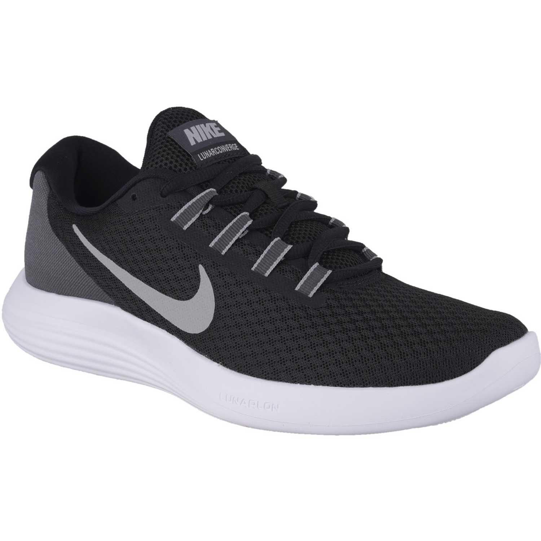 Hombre Lunarconverge Negro Nike Blanco Zapatilla De 8wqR5Sf
