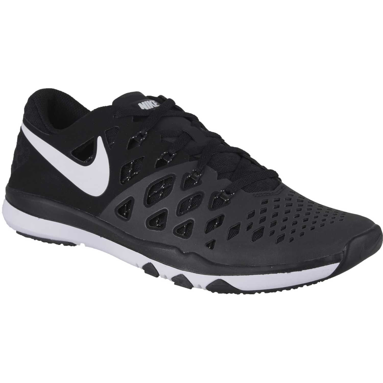 Zapatilla de Hombre Nike Negro / blanco train speed 4
