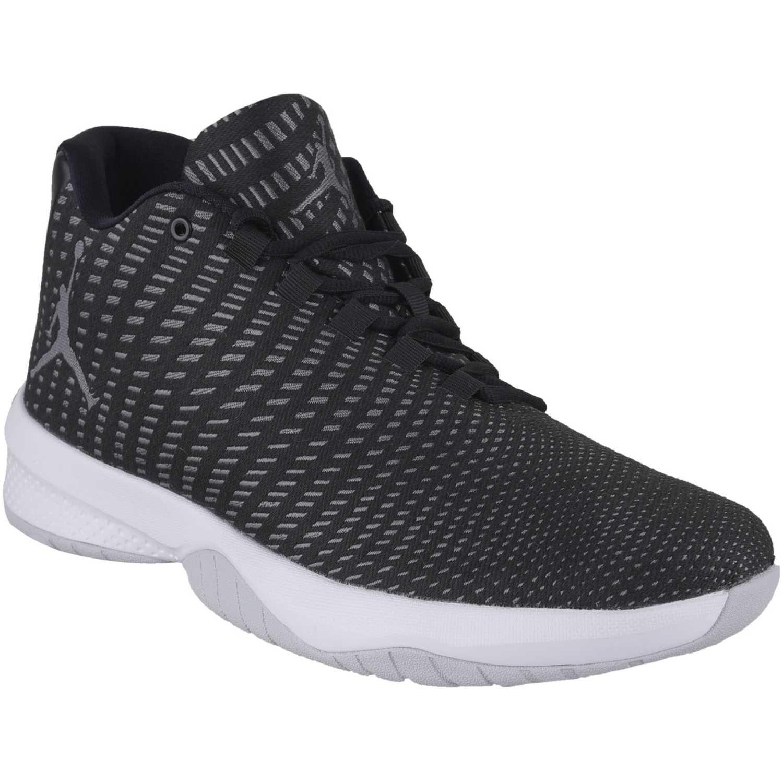 414cfe28f35 Zapatilla de Hombre Nike Negro   Blanco jordan b. fly