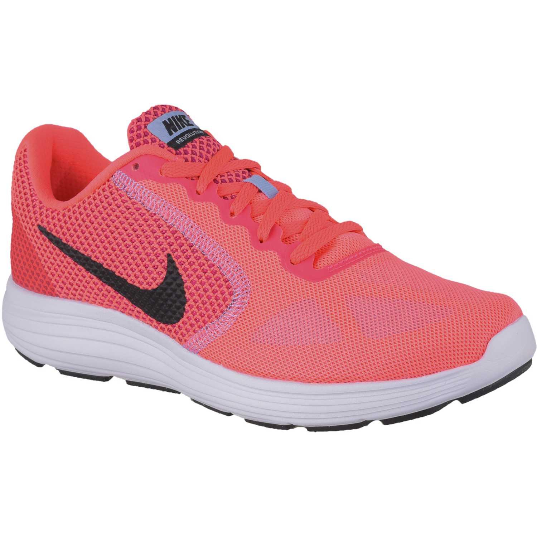 Zapatilla de Mujer Nike Coral / Blanco wmns revolution 3