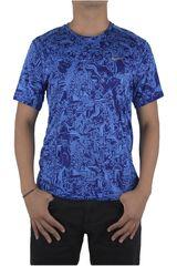 Nike Azul de Hombre modelo DRY UV MILER TOP SS PR Camisetas Deportivo Polos