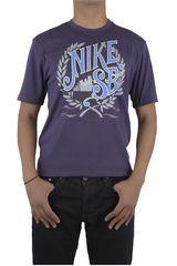 Nike Negro / Turquesa de Hombre modelo DF SB BREWED CREST TEE Polos Casual