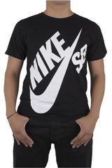 Nike Negro / Blanco de Jovencito modelo SB S/S LOGO TEE Polos Deportivo