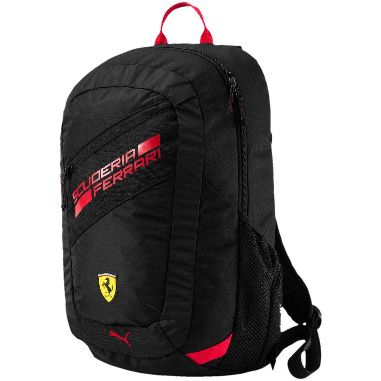 387aebca3 Mochila de Hombre Puma Negro / Rojo ferrari fanwear backpack ...
