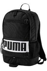 Puma Negro / blanco de Hombre modelo deck backpack Mochilas