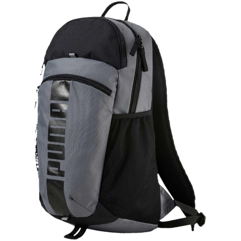 700f3c94a Mochila de Hombre Puma Gris / Negro deck backpack ii | platanitos.com