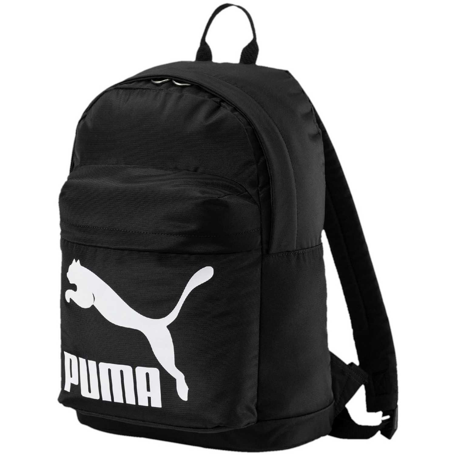 b744d59f9f18e Mochila de Hombre Puma Negro   blanco originals backpack ...