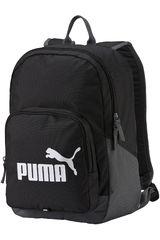 Puma Negro / Blanco de Hombre modelo PHASE BACKPACK Mochilas