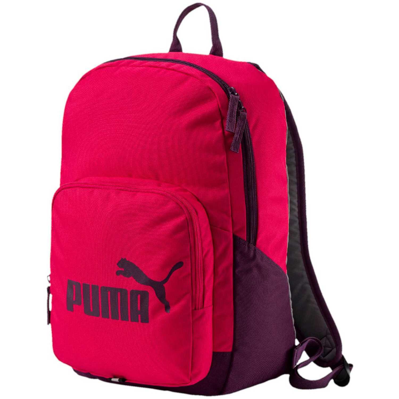 f443328ea Mochila de Mujer Puma Fucsia / Morado phase backpack | platanitos.com